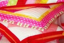 quilted and patchwork, crazy quilt