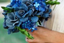 blue and viollet