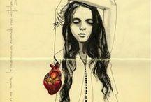 Ilustración con corazón!