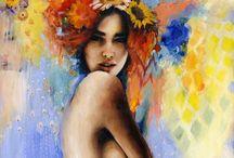 Charmaine Olivia / Portrait artist