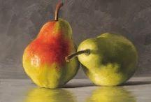 Michael Naples / Fruit painter -oils