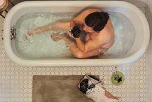 Lee Price / Photo Realistic self-portraits of Lee Price's secret binge eating