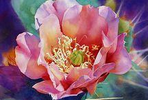 Cheryl Brajner Weinfurtner / Floral watercolour art