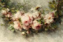 Margaretha Roosenboom / Oil painted flowers