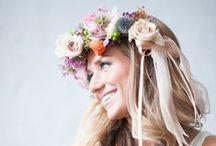 Coronas para novias / Floral crowns / Coronas de flores para novias. The best options for floral crowns