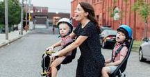 Mums & Kids on bikes / Celebrating cycling Mums from around the world along with tips and advice for cycling with babies, toddlers, older children and teenagers. From baby seats to road safety.