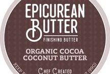 Epicurean Butter Blends / Find our gourmet finishing butters at epicureanbutter.com or at a retailer near you.