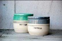 Beautiful Butter Crocks