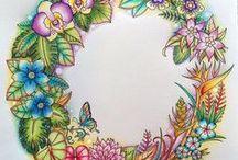 Johanna Basford - Magical Jungle / Colorings of the beautiful Magical Jungle Book by Johanna Basford