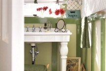 Bath Ideas / Every bath in my house needs help! / by Susan Stetz