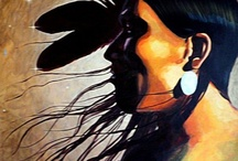 Native & Native inspired art / -99.9% Native American artists- / by S MasB