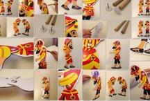 Hacivat Karagöz / Her yaştan insana, özellikle çocuklarımıza, futbolu ve milli değierlerimizi sevdirmek amacıyla yapılmış bir oyun kuklasıdır