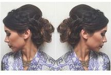Wedding and Special Occasion hair / bridal hair, updos, fancy hair