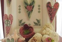 Cross Stitch Hearts & Valentines / by Susan Stetz