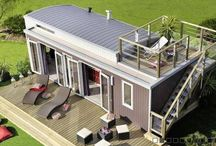 Small homes / Small and sustainable footprint, getting to build own home cheap.