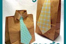 Gifts / Geschenkverpackungen, Ideen, Bänder