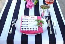 Covered table / Gedeckter Tisch