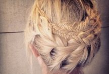 Braids / A collection of braided hair...this was my favourite hairstyle as a child x
