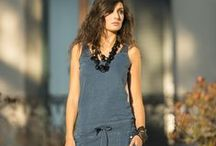 Indigo Jumpsuit 40 WEFT / Sensuality and easy wearble way with 40 WEFT www.40weft.com