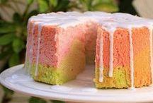 Angel Cake e dolci di albumi