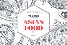 ORIENTAL and Middle Eastern (Asian) food