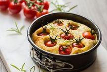 Focacce, ripieni e torte salate