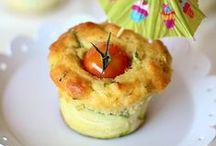 muffins / cake salati - SAVORY