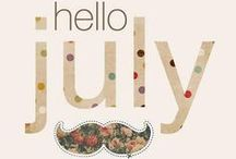 Welcome July! / July men's look by 40 WEFT!