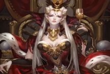 The Aeterno Dominion. / Arrogent Masters of Science and Art Ruled by the Opal Empress, Matriarch of the Granite Gates.