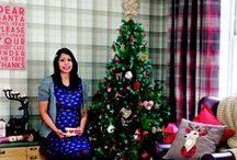 LOVE IT: Christmas tree challenge 2015 / Christmas looks from the 2015 Style at Home Christmas tree challenge. Featuring Dunelm, HomeSense, Tesco, Argos, Asda, Marks & Spencer and Wilko.