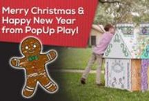 Christmas Ideas / From gingerbread houses to crafty elves, you'll find inspiring ideas to augment you holiday tradition.