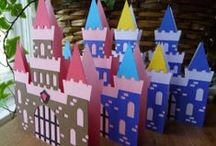 Come to the Castle! Party / Lower the drawbridge and invite your favorite knights, princesses and dragons to this imaginative kids' birthday party. Add a PopUp Play Castle for everyone to color on and play in.