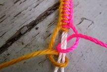pletené náramky