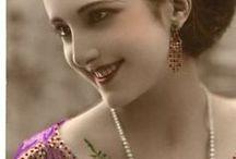 la belle epoque : beauty fashion flower