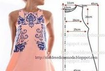 Dress sewing - Cucito da indossare con cartamodelli