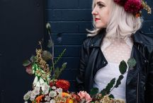 Wilderness Bride NQ Manchester Photoshoot / A styled shoot 2017 Location: Northern Quarter Manchester  Photography: Jenn Brookes Model: Martha  Dresses and makeup: Wilderness Bride