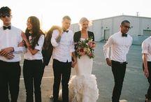Soft grunge wedding