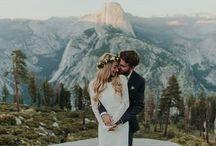 Wild wilderness wedding