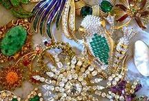 VINTAGE COSTUME JEWELRY... / Piqued interest in vintage pieces.