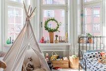 Kids / Scandinavian bedroom, kid, kids, bed, design, home, decoration