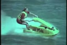 The History of Jet Skis / These unique small powercraft are exciting to race.  They are fast for their small size and loads of fun. My favorite type of racing is the endurance format where you ride for long hours and cover miles of water texture pushing yourself closer to understanding how to technically master your craft.  Those techniques increase by necessity when the wind and water become increasingly more powerful.  IJSBA Racing  https://www.facebook.com/JETSKIHistory