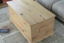 Canadian Wooden Crafts on ETSY / Unfinished Canadian Pine Furniture