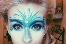 líčení, účesy a strašidelný makeup