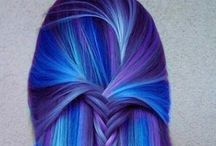 Love to do / Would like to do these colors in hair.