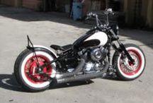 Dragstar and bikes / Motoren