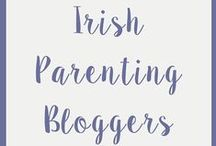 Irish Parenting Bloggers / Parenting Blogs from Ireland - Mammies and Daddies of children of all ages!