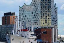 Hamburg und die Elbphilharmonie / Fotos rund um das umstrittene Wahrzeichen von Hamburg.