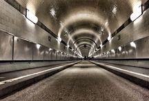 Hamburg und der St. Pauli Elbtunnel / Fotografien rund um das unterirdische Wahrzeichen von Hamburg
