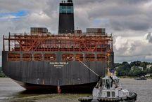 Hamburg und der Hafen