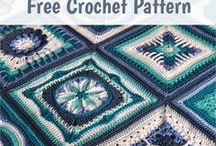 Nuts About 35 Squares CAL [Free Crochet Pattern] / Nuts about Squares is a blanket with 35 lovely squares designed by 11 talented crochet designers. Some of them are well known and admired for their fabulous designs, others are perhaps less known. #crochet #crochetpattern #freepattern
